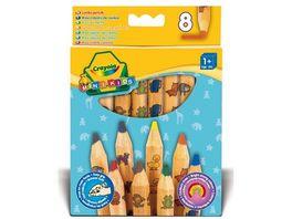 Crayola MINI KIDS Standard Buntstifte Motiv Maxi 8 Stueck