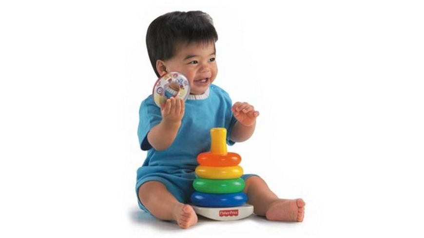Fisher Price Baby Farbring Pyramide