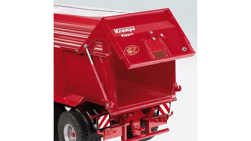 Wiking Krampe Big Body 650 Muldenkipper mit Silageaufsatz u Schraegdachplane