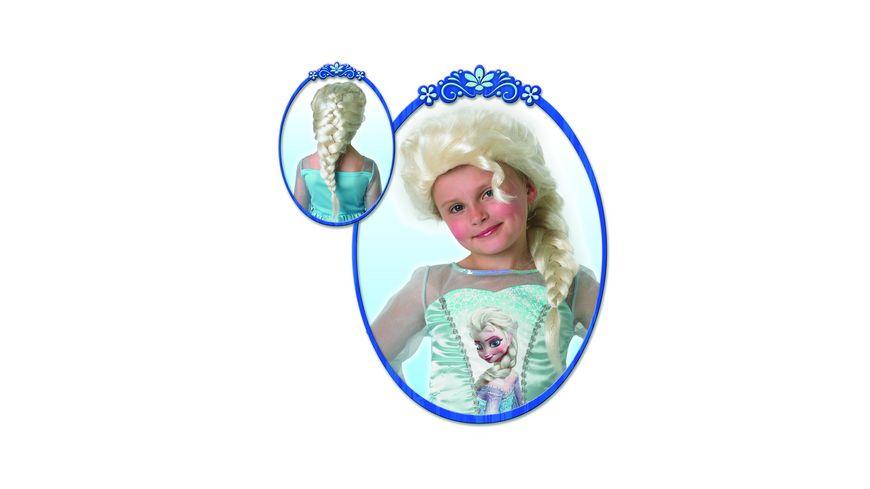 Rubies Elsa Wig Frozen Child