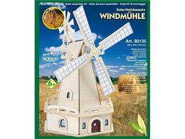 Weico 80135 Windmuehle Solarholzbausatz