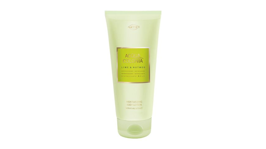 4711 Acqua Colonia Lime Nutmeg Bodylotion