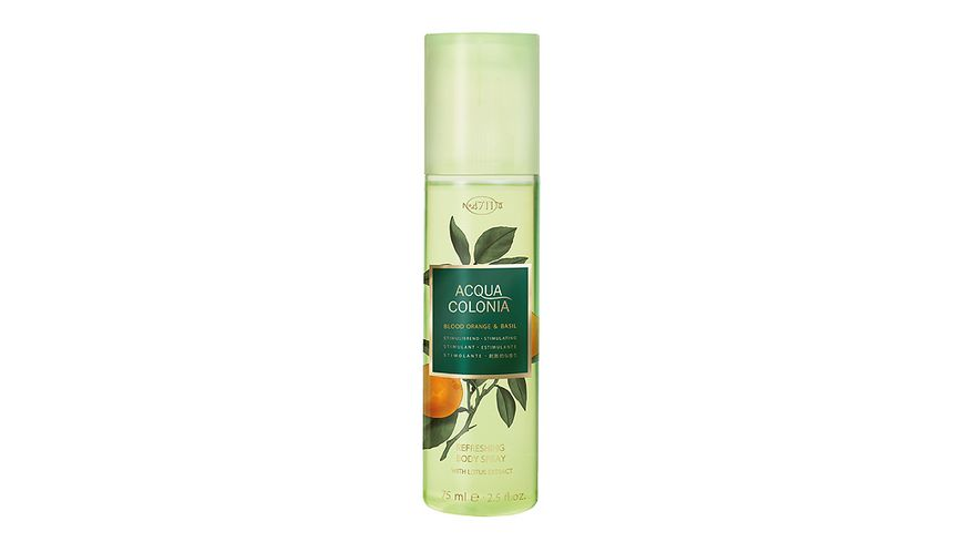 4711 Acqua Colonia Blood Orange Basil Refreshing Bodyspray