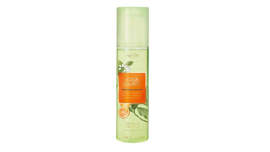 4711 Acqua Colonia Mandarine Cardamom Refreshing Bodyspray