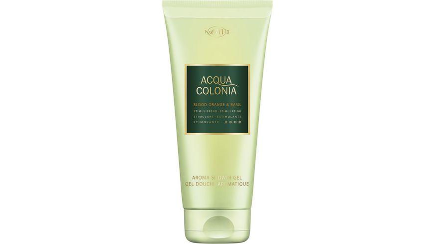 4711 Acqua Colonia Blood Orange Basil Aroma Shower Gel