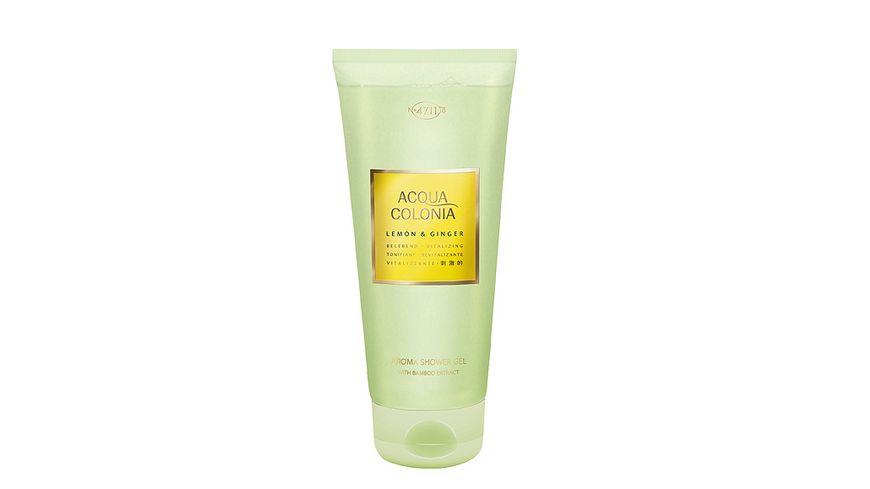 4711 ACQUA COLONIA Lemon & Ginger Aroma-Duschgel
