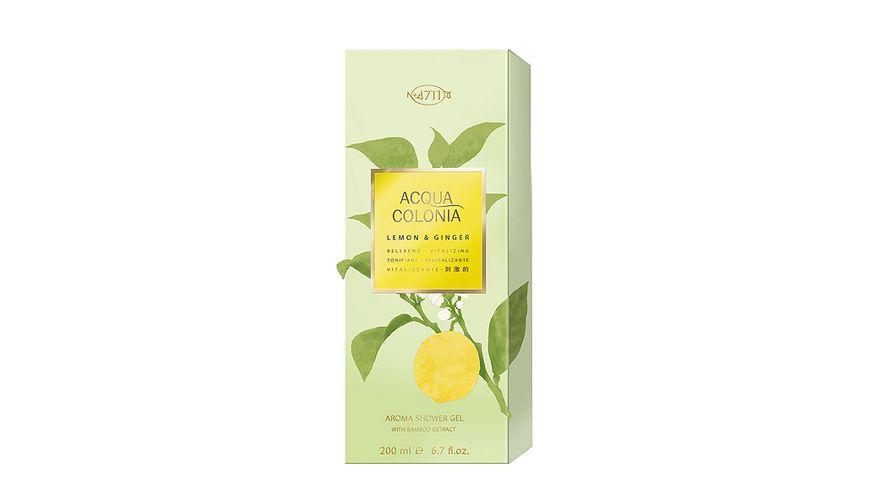 4711 Acqua Colonia Lemon Ginger Aroma Duschgel