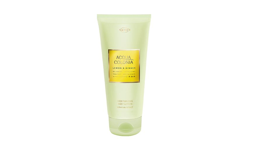 4711 Acqua Colonia Lemon Ginger Moisturizing Bodylotion