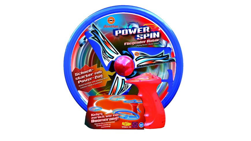 Guenther Flugmodelle Power Spin Propeller Spiel