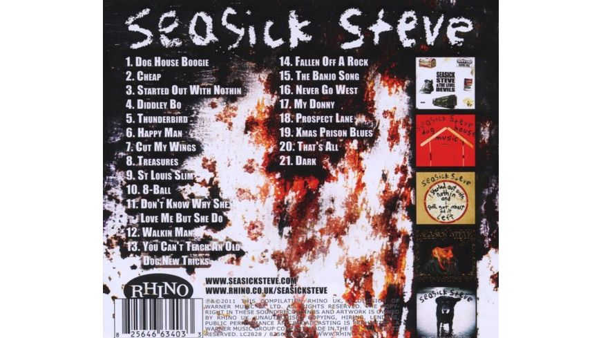 Walkin Man The Best Of Seasick Steve