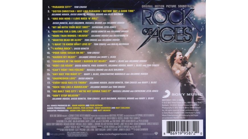 Rock of Ages OST