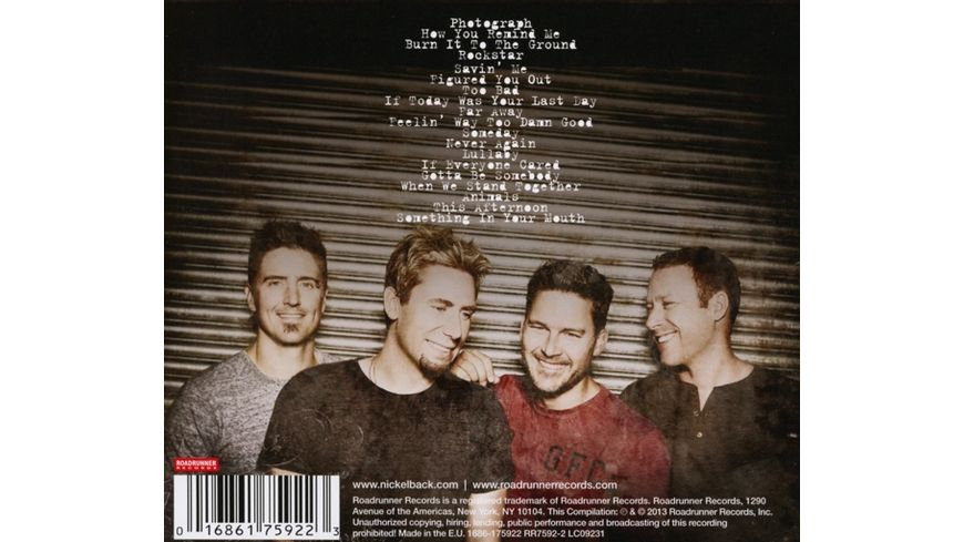 Best Of Nickelback Vol 1