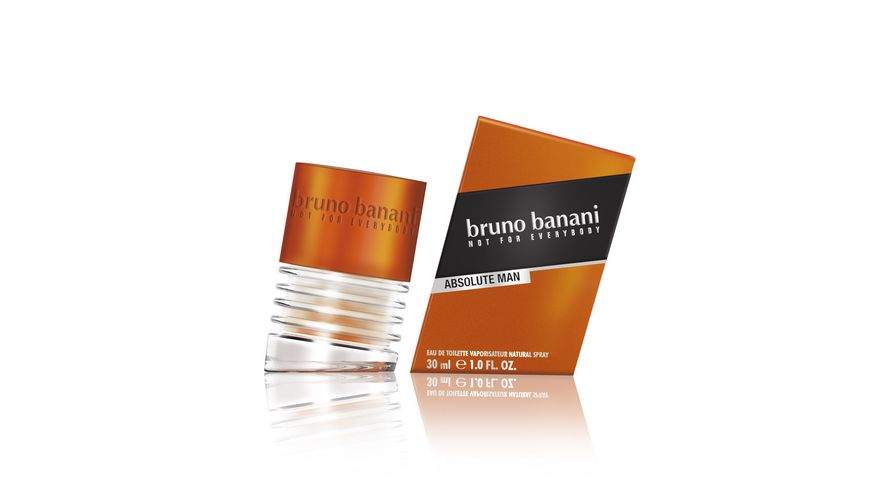 bruno banani Absolute Man Eau de Toilette Natural Spray
