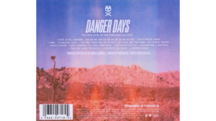 Danger Days True Lives Of The Fabulous Killjoys
