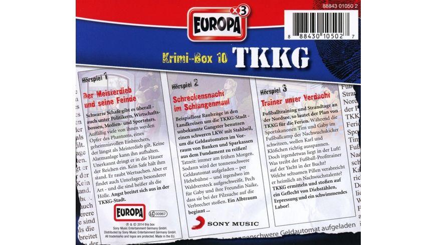 TKKG Krimi Box 10