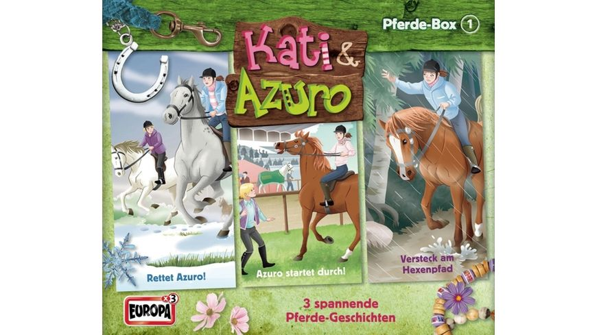 001 3er Box Pferde Abenteuer Box Folgen 1 2 3
