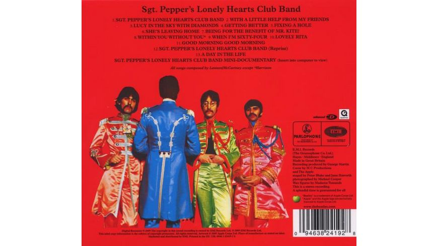 Sgt Pepper s Lonely Hearts Club Band Remastered