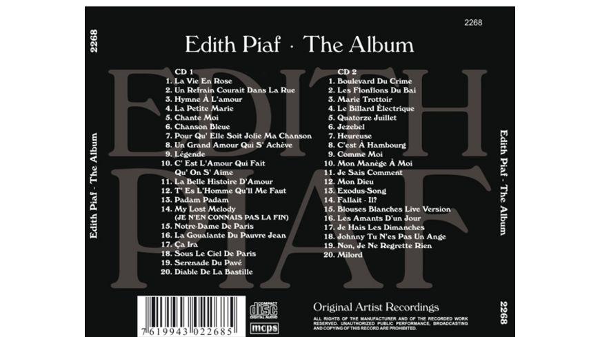 Edith Piaf The Album