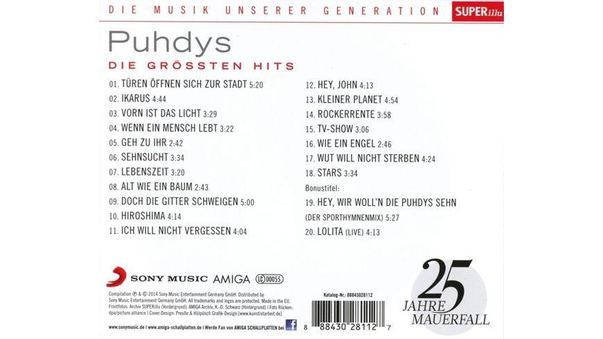 Musik unserer Generation Die groessten Hits