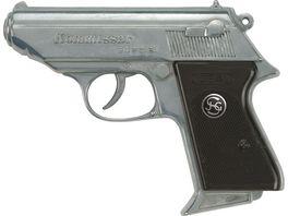 J G Schroedel Kommissar 13 Schuss Pistole Knalllautstaerke 125 db
