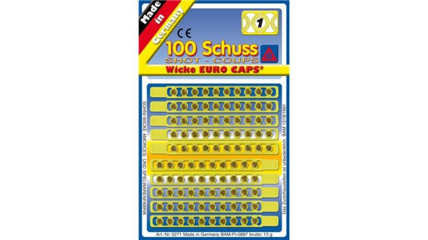 J G Schroedel Einzelschuss Munition 100 Schuss