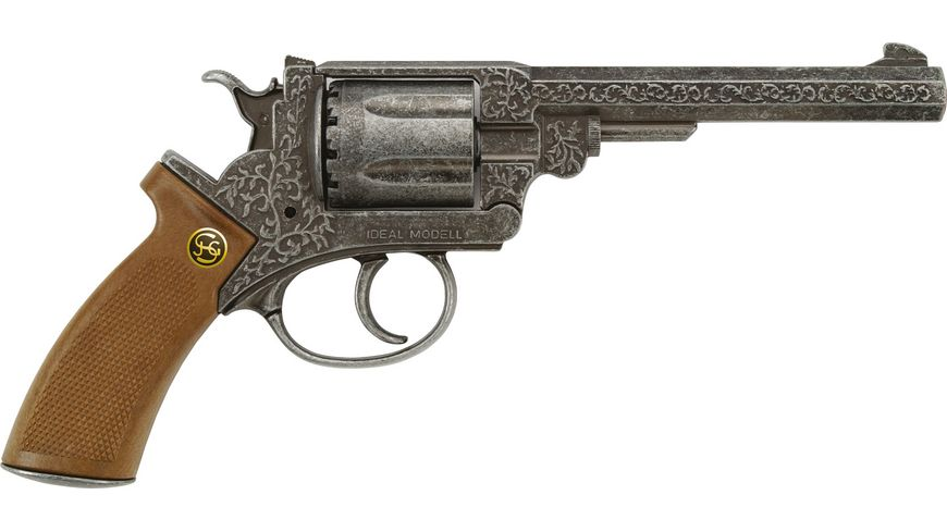 J G Schroedel Adams antik 12 Schuss Pistole Knalllautstaerke 125 db
