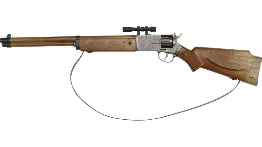 J G Schroedel Texas Ranger 12 Schuss Gewehr Knalllautstaerke 125 db