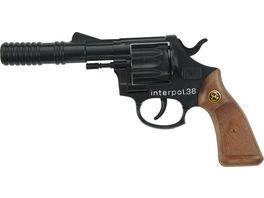J G Schroedel Interpol 38 12 Schuss Pistole Knalllautstaerke 125 db