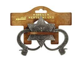 J G Schroedel Sheriff Set antik