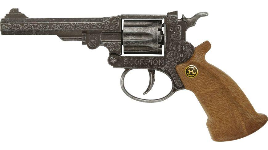 J G Schroedel Scorpion antik 8 Schuss Pistole Knalllautstaerke 125 db