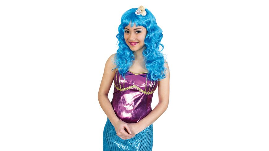 Fries Peruecke Meerjungfrau