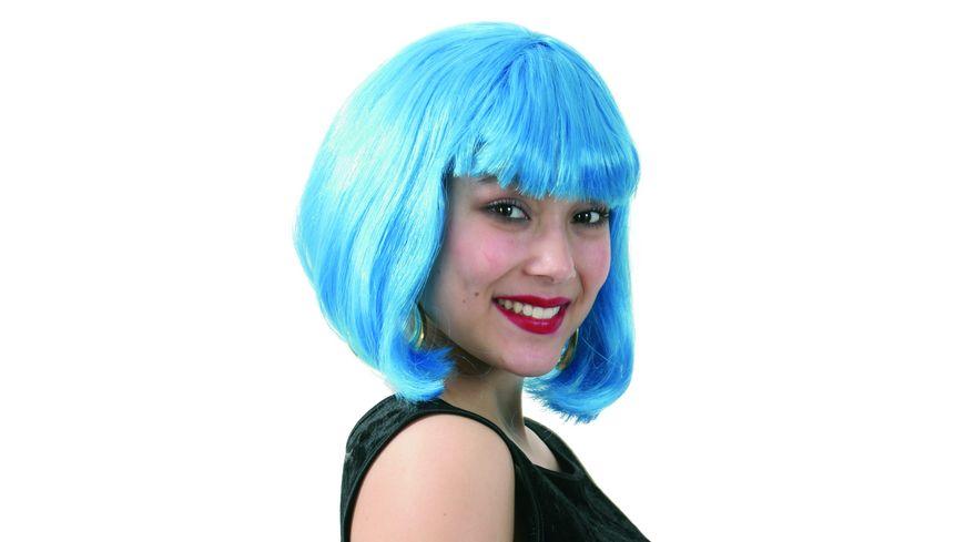 Fries Peruecke Lola neon blau