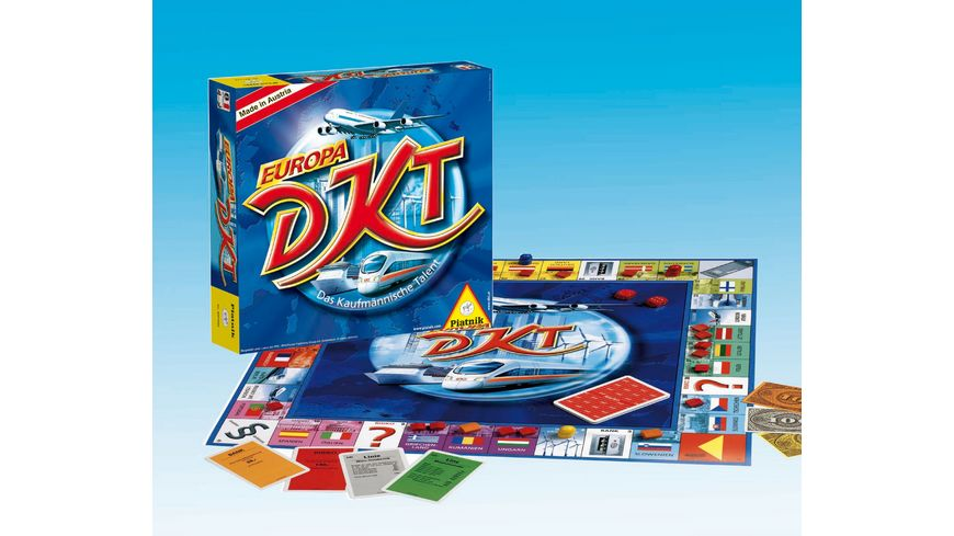 Piatnik DKT Das Kaufmaennische Talent Europa