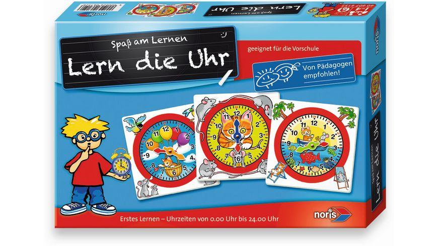 Noris Spiele - Lern die Uhr