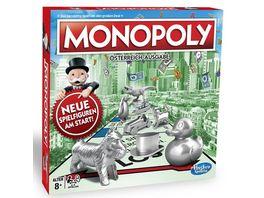 Hasbro Monopoly Classic oesterreichische Version Neue Edition 2013
