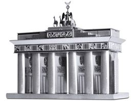Metalearth Bauwerke Brandenburg Gate