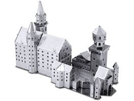 Metalearth Bauwerke Schloss Neuschwanstein 2018 3 Boegen