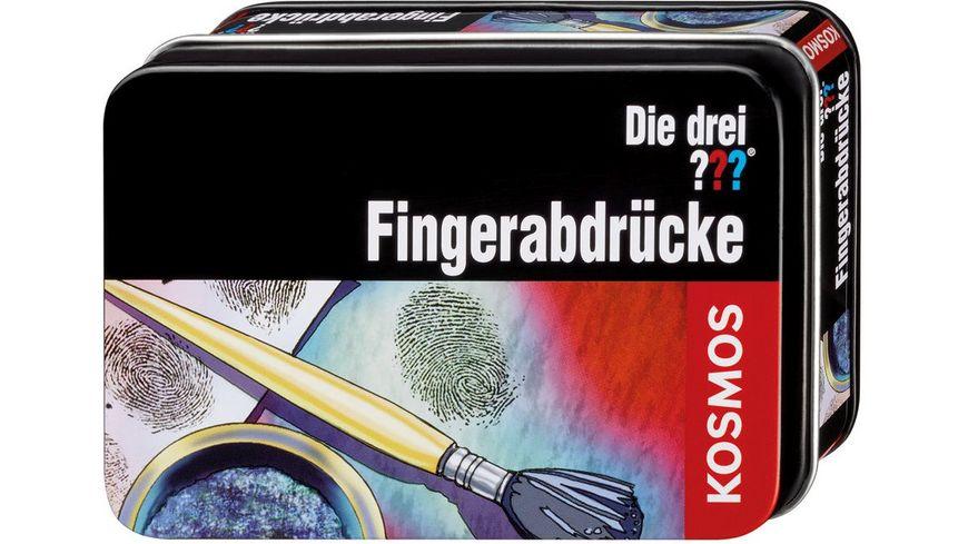 KOSMOS Die drei Fingerabdruecke
