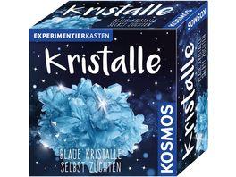 KOSMOS Kristalle blau Blaue Kristalle selbst zuechten