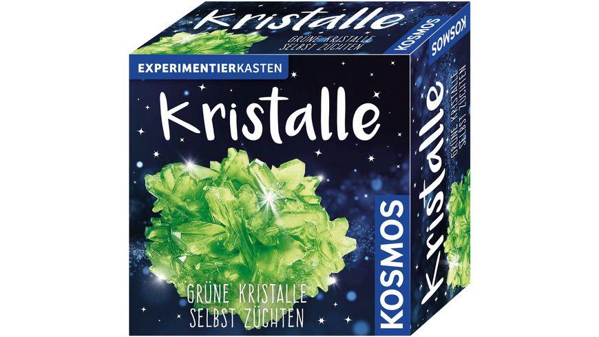 KOSMOS Kristalle gruen Gruene Kristalle selbst zuechten
