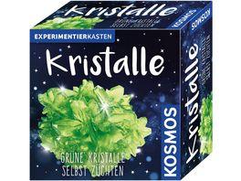 KOSMOS Experimentierkaesten Kristalle gruen