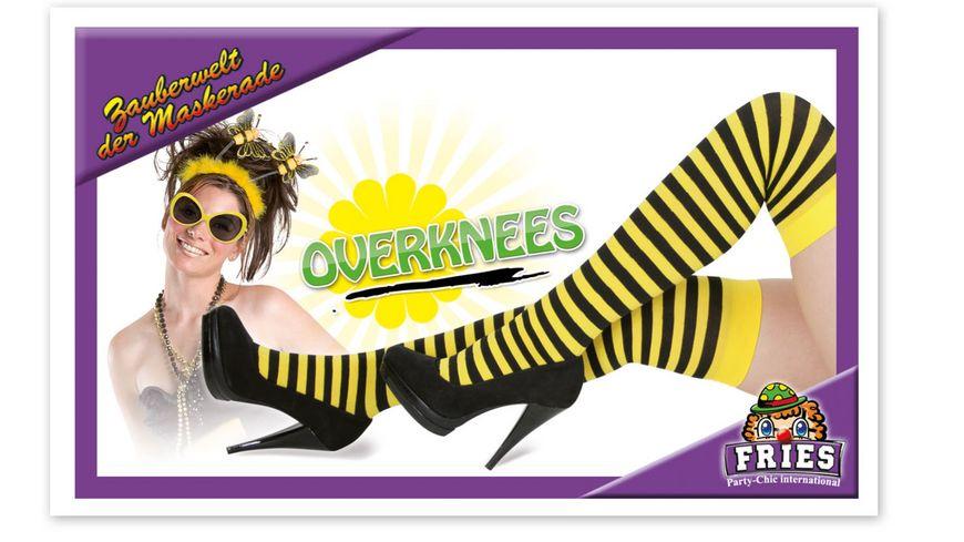 Fries Overknees Biene
