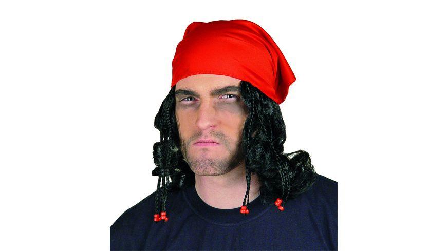 Fries Piratentuch mit Haaren