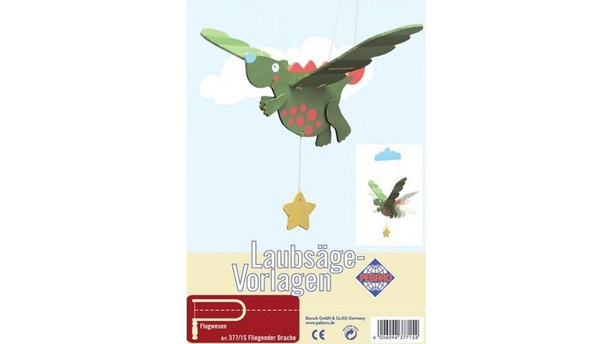 Pebaro Laubsaegen Vorlagen Fliegender Drache