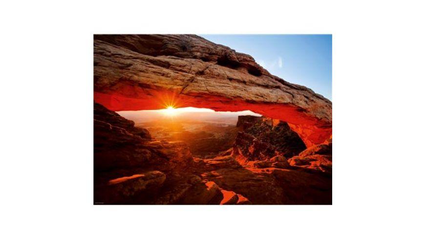 Heye Standardpuzzle 1000 Teile Edition Alexander von Humboldt Mesa Arch