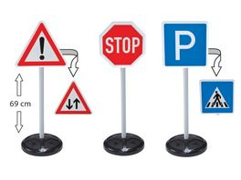 BIG Big traffic signs 3er Set