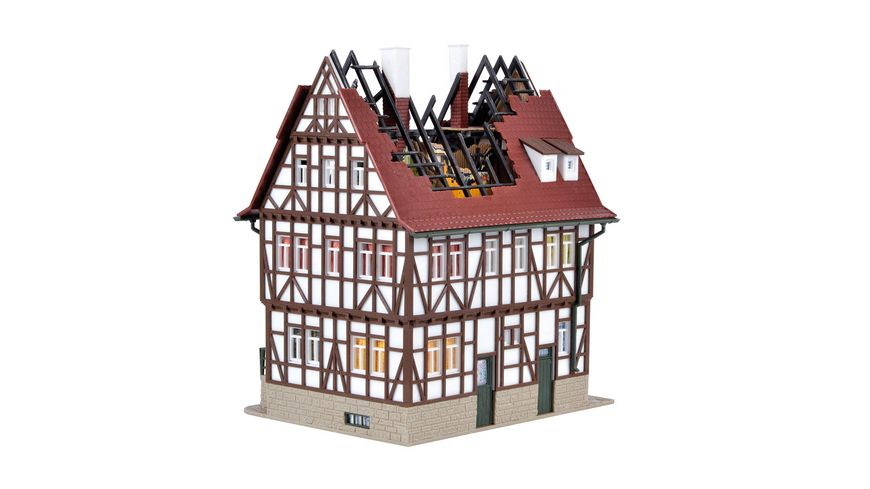 Vollmer 43728 H0 - Brennendes Haus