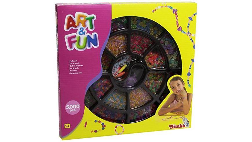 Simba Art und Fun Perlenschmuck Set 2 sort