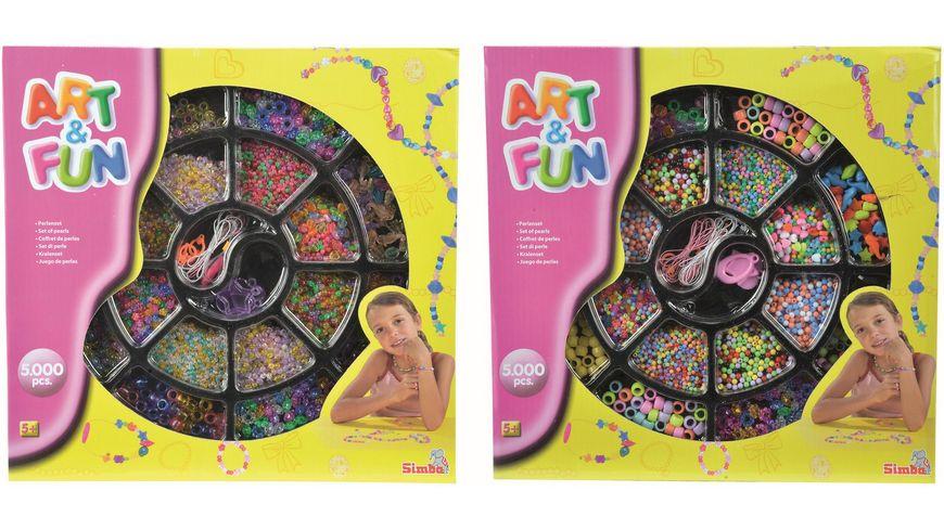 Simba Art und Fun PerlenschmuckSet 2 sort