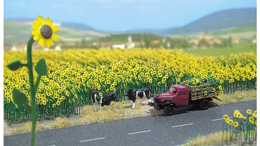 Busch Modellbahnzubehoer Sonnenblumenfeld